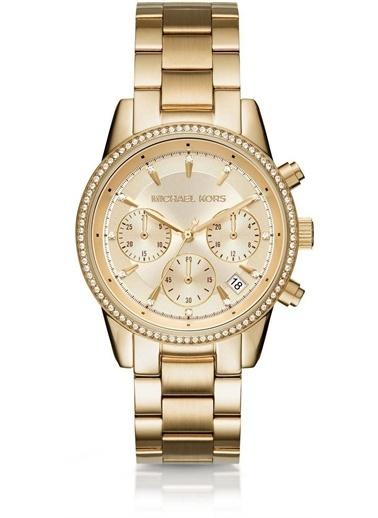 Michael Kors MK6356 Kadın Kol Saati Altın
